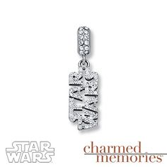 Charmed Memories Star Wars Captain Phasma Charm Sterling Silver U7JUUnp
