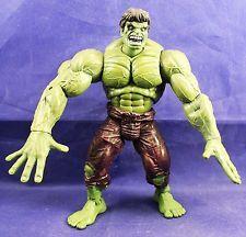 Marvel Legends Series 1 I The Incredible Hulk Rubber Hands Figure LOOSE Toy Biz