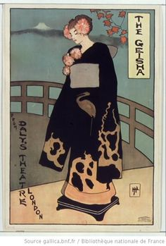 The Geisha from Daly's Theatre London... : [affiche] / [non identifié] - 1