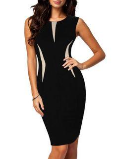 MissMay Women's Official Contrast Split Badycon Dress XXL/Size 12-14 Black MissMay http://www.amazon.com/dp/B00JVFDEY4/ref=cm_sw_r_pi_dp_g7f0tb0YMME90Q0F