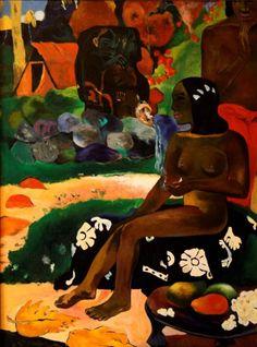 Paul Gauguin - Vairaumati tei oa (Her Name is Vairaumati), 1892