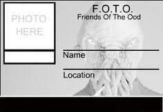 Friends Of The Ood - I need all my friends pictures and a laminator! STAT!  by ~Tabitha-Habitat on deviantART