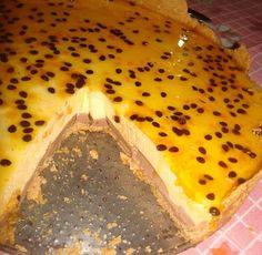 Aprenda a fazer Receita de Torta de maracujá tem uma camadinha de ganache, Saiba como fazer a Receita de Torta de maracujá tem uma camadinha de ganache, Show de Receitas