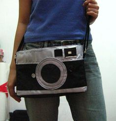Brings a whole new meaning to camera bag.