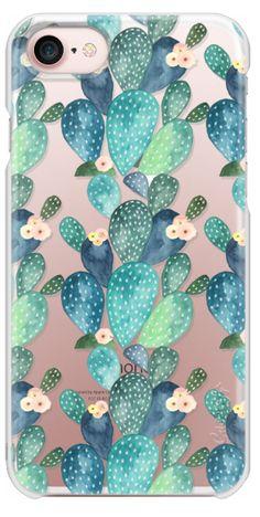 Casetify iPhone 7 Snap Case - Los cactus by Li Zamperini Art #iphone,