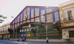 Antigua estación de Málaga