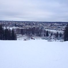 View from the highest point of Kokonniemi ski slope. www.visitporvoo.fi