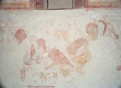 Fresco in Church, Skanderup, Denmark (1100-1200)