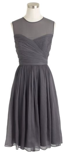 Love this color - bridesmaid dress... In navy
