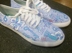Lilly Kappa Kappa Gamma shoes!   https://www.etsy.com/listing/104403839/lilly-pulitzer-inspired-canvas-shoes  submitted by: rowingprobs      LOVE!!!