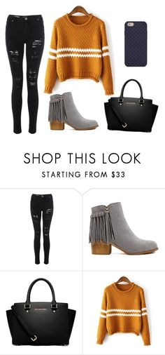 """""""Day out"""" by sofie-haakansson on Polyvore featuring MICHAEL Michael Kors and Tory Burch"""
