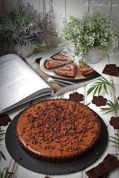 Tarta sedosa de chocolate - Mis Dulces Joyas Anna Olson, Nutella, Tiramisu, Ice Cream, Chocolates, Chocolate Cakes, Eat, Ethnic Recipes, Desserts