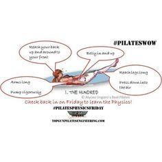 #PilatesWOW - The Hundred - an intro #Pilatesengineer
