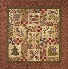 Buy a chance to win the beautiful Antique Garden quilt in our Summer 2015 issue!