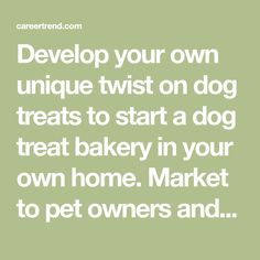 51 Good Catchy Dog Treat Business Names | miss molli kay ...