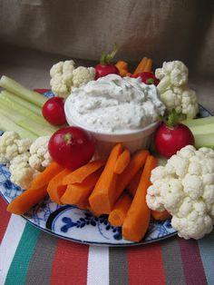 La cuisine d'ici et d'ISCA: Dip de fromage aux fines herbes