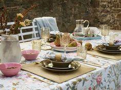 Brillo en la #mesa #menaje #vajilla #dorado #oro #mantelería