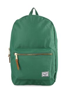 Settlement Backpacks by Herschel. Backpack with a classic design,  offering a vintage style with a modern construction, this backpack made of a great material, features exposed zippers, one main compartment, front pocket and laptop sleeve. http://www.zocko.com/z/JH0MZ