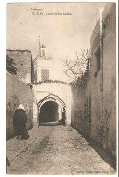 Postal Tetuán,original,sin circular,calle Sidik Saida,Rif,Ceuta,Melilla,,la de la foto