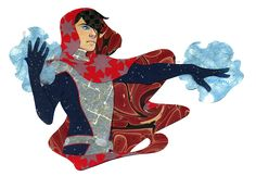 pencil shavings and chocolate chip cookies (Papercraft commission of Billy Kaplan/Wiccan from...)