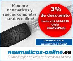 neumaticos-online.es Tape, Coding, Wheels, Europe, Duck Tape, Ribbon, Programming, Ice