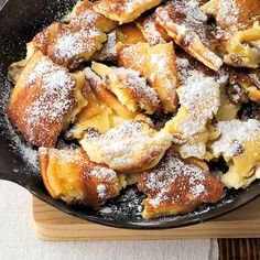 The best GU recipes with quality guarantee: Austrian Kaiserschmarrn Pancake Healthy, Best Pancake Recipe, Austrian Recipes, Easy Desserts, The Best, Cake Recipes, Food Porn, Easy Meals, Food And Drink