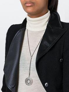 Ann Demeulemeester 'Bracciale 3D Medal' necklace
