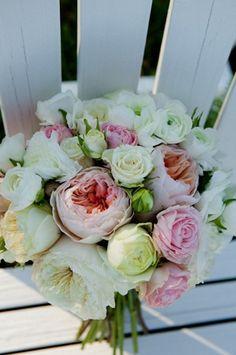 Ramo de novia con peonias. Delicado, romántico y muy bello!!
