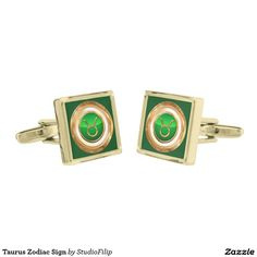 Taurus Zodiac Sign Cufflinks | 15% OFF anything | Enter coupon code ALLOVERSTYLE during checkout |. Good through April 6, 2016 11:59PM PT