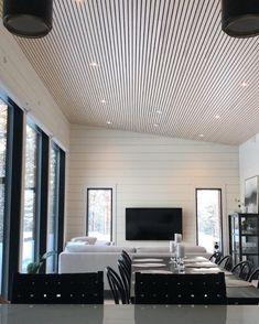 """10 tykkäystä, 0 kommenttia - Kohtakotona (@kohtakotona) Instagramissa: """"H 🤍 M E  #kuusamohirsitalot #hirsitalo #moderihirsitalo #homeinspo #interiorinspiration…"""" Blinds, Curtains, Home Decor, Decoration Home, Room Decor, Shades Blinds, Blind, Draping, Home Interior Design"""