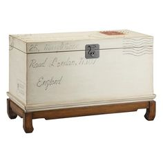 I pinned this Village Market Storage Trunk from the Good Working Order event at Joss and Main!