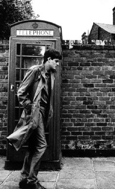 Sam Riley as Ian Curtis from the movie Control, Directed by Anton Corbijn Joy Division, Music Icon, Pop Music, Salford, Ian Curtis, Natalie Curtis, Punk Rock, Sam Riley, Charming Man