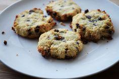 Coconut flour chocolate chip cookies.