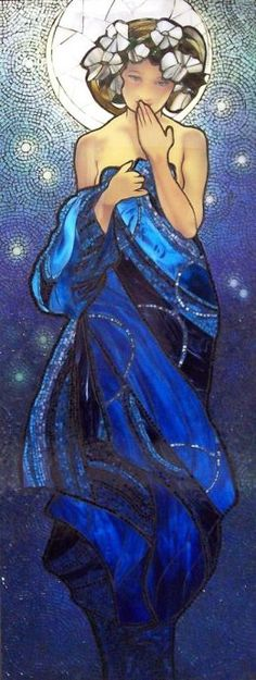 Alphonse Mucha - Night Sky