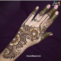 best mehndi design simple and easy step by step are available here. You can save the beautiful mehndi designs, latest mehndi designs. Easy Mehndi Designs, Latest Mehndi Designs, Bridal Mehndi Designs, Back Hand Mehndi Designs, Indian Mehndi Designs, Henna Art Designs, Mehndi Designs For Girls, Mehndi Designs For Beginners, Mehndi Design Pictures