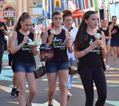 Maddie Ziegler, Kalani Hilliker, and Kendall Vertes