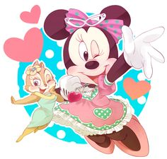 mickey mouse y