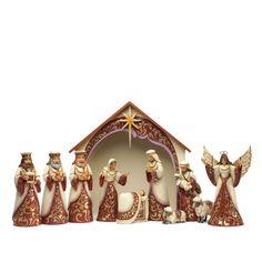 Jim Shore Heartwood Creek 11-Piece Nativity Set ~ Christmas Adoration ~ 4034381