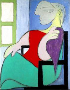 PP  ,  asi  pinto  Pablo  a  Marie Therese  junto  a  la  ventana  ....oky