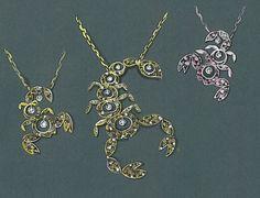 #jewelrysketch scorpions #luxurynecklace by ponte vecchio gioielli