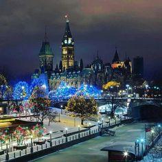 Ottawa at Christmas