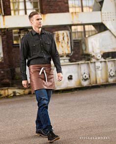 VIAPORI Apron Leather Workwear Fashion, Work Wear, Apron, Leather, Work Clothes, Career Wear, Workwear, Scrubs, Work Wardrobe