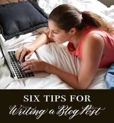 In this article, you'll learn six tips for writing a blog post that is polished and effective! Good SEO and great photos are two of the elements needed.
