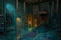Throne room by RealNam on DeviantArt