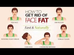 How to Get Rid of Face Fat Fast and Naturally - YouTube