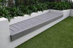 BBQ area for multi residential Backyard Plan, Backyard Landscaping, Outdoor Pots, Outdoor Gardens, Modwood Decking, Diy Bbq Area, Sydney Gardens, Diy Pergola, Pergola Plans