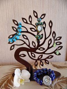 Купить Вешалка для украшений - комбинированный, для украшений, для дома и интерьера, вешалка, подставка для украшений, подставка для бижутерии