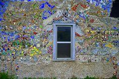 Mosaic Wall Window 1 Photograph  - Mosaic Wall Window 1 Fine Art Print