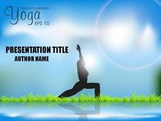 Yoga center powerpoint template imaginelayout powerpoint sunrise yoga powerpoint toneelgroepblik Image collections