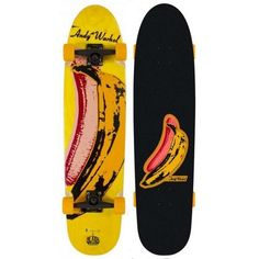 "Alien Workshop Warhol Banana 8.6"" x 36.5"" Cruiser Longboard Complete #AlienWorkshop"